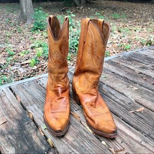 Men's Lucchese 1883 Tan Western Boots